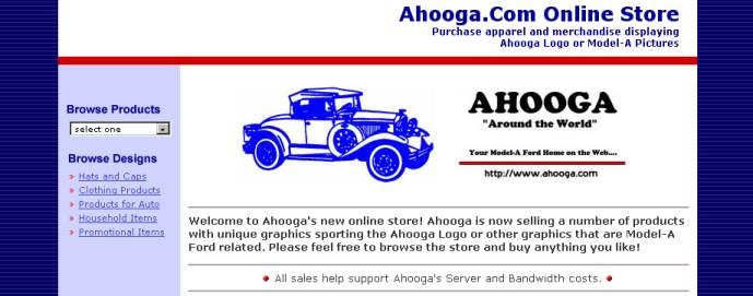 Ahooga Online Store