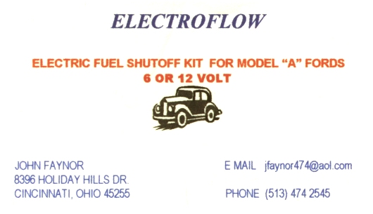 Electro Electric Fuel Valve Banner