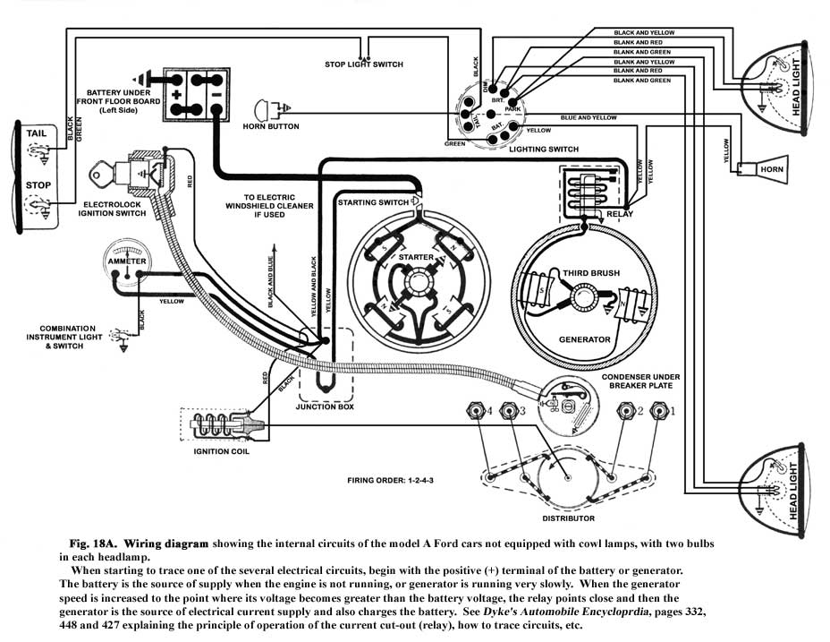 WiringDiagram 1929 model a wiring diagram model a ford horn diagram \u2022 wiring Ford Model T at bayanpartner.co